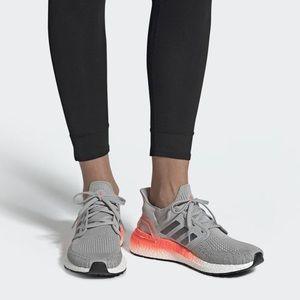 Adidas Ultraboost 20 Running Shoe in Gray, Sz 7